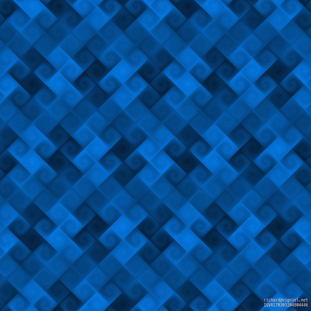 Blue Deep Pattern BL06