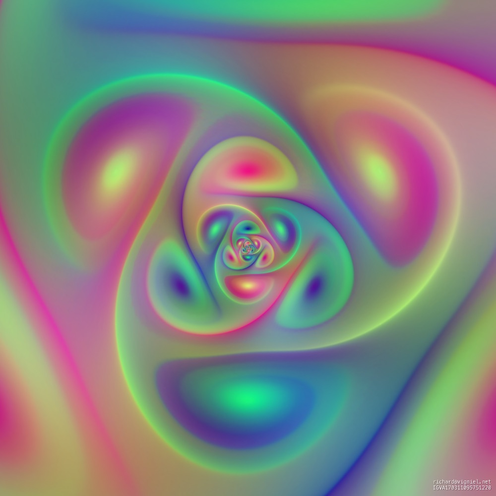 Spiral Algorithmic Pattern SP08